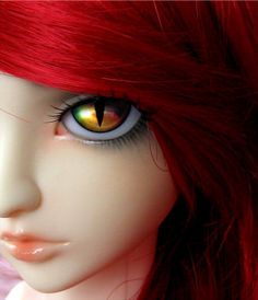 amazing bjd dolls | BJD doll eyes rainbow cat metallic | Flickr - Photo Sharing!