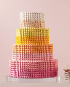 Sweet Tooth: Cake decorated with M's!
