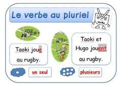 Affichage CP/Taoki : Le verbe: au singulier, au pluriel edl, grammaireconjugaison, frenchgrammar, françai, littérati, lectur, francai, fle, ecol