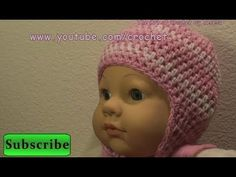 Baby Crochet Cap with Earflap Option - The Earflap