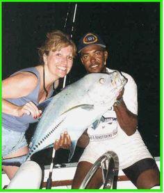 Night fishing followed by BBQ, Silver Deep style!