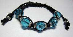 Shambala Beaded and Macreme Bracelet by kerryahh on Etsy, $24.99