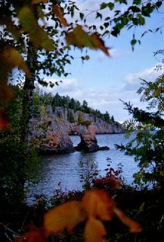 Lake Superior Shoreline at Tettagouche