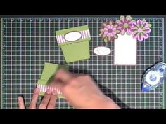 mothers day, new stampin up cards to make, stampin up flower cards, flower pot cards, blossom parti, flower pots, video tutori, card tutorials, blossoms