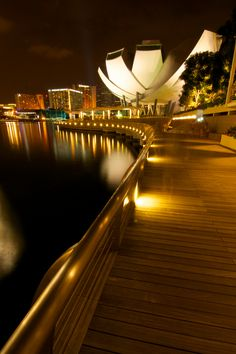 Art Science museum, Marina Bay, Singapore