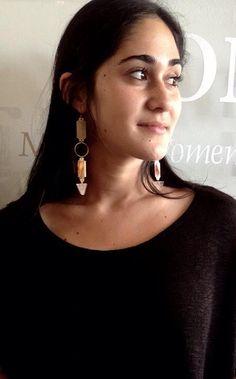 Bolt earrings