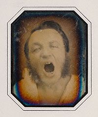 Man with Open Mouth, French, about 1852