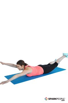 A great move to strengthen and stabilize your lower back! | via @SparkPeople #fitness #exercise #workout #lowerback