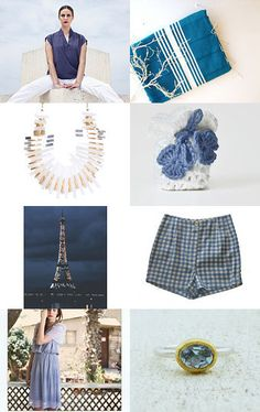 Blue Thursday by maya ben cohen on Etsy--Pinned with TreasuryPin.com