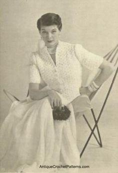 Crochet Jacket Pattern - Free Crochet Pattern