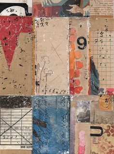Collage by Kariann Blank #collage #grid
