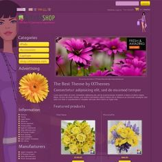 Example 01 for FOR WOMEN ONLY PrestaShop Theme Release 7.0