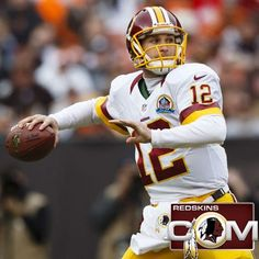 Redskins (and former Spartan) QB Kirk Cousins has been named NFL Rookie of the Week and also named NFL 'Never Say Never' Moment of the Week for helping the team take control of NFC East.