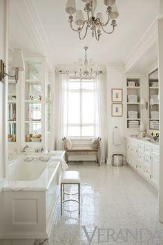 interior design, design homes, floor, tub, bathroom designs, white bathrooms, master baths, dream bathroom, design bathroom