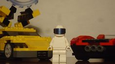 All we know is he's not the Stig but he is the Stig's Lego cousin.