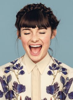 Lisa Mitchell photographed by Cybele Malinowski for Yen magazine: Fall 2012.
