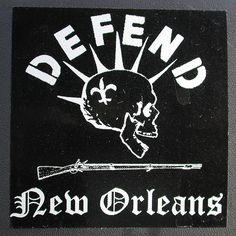 Defend New Orleans: your shop for authentic New Orleans mementos #NewOrleans #MagazineStreet #NOLA
