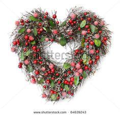 christmas decorations, heart shape, desir collect, amaz, christma idea, wreath, mb desir, shape christma, christmas ideas