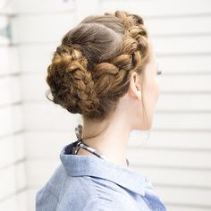 What's your go-to warm weather hairstyle? #modcloth #braids