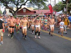 Slideshow: Annual underpants run in Kona!