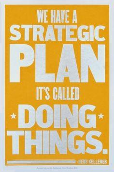 A Strategic Plan
