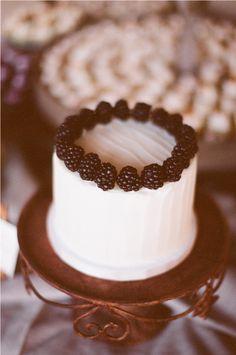 Fresh Blackberry Cake.