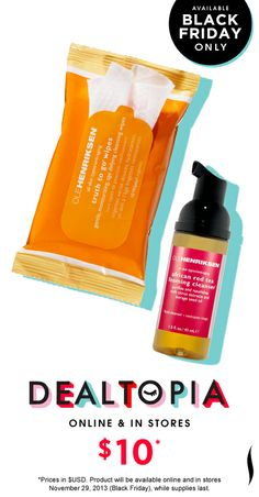 Black Friday Preview: Ole Henriksen Clean Sweep Duo #Dealtopia #Sephora #blackfriday