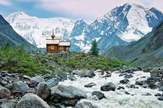 Belukha Mountain is the highest point in Siberia