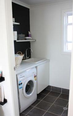 Organizar lavanderia pequena