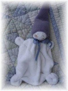 Waldorf inspired washcloth gnome baby tutorial