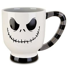 This Nightmare Before Christmas mug is perfect for Halloween! #Coffee #Cup #MrCoffee