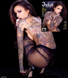 #lingerie #ericam #hosiery #autumntrends #legwear #bodywear #tights #pantyhose #sexy #undergarment #secondskin #CleoWattenström #Tattoo #Magazine #CoverPage #Genevieve