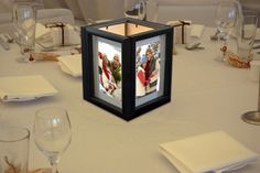 Backlight Photo Frames for a Wedding - Bring your pictures to life by putting them in frames and then lighting them from behind. Place them on each table at the reception or around the cake. It's simple to print your pictures at a KODAK Picture Kiosk and your family and guests will love it!