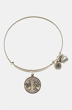 Alex and Ani 'Tree of Life' Expandable Wire Bangle available at #Nordstrom