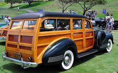 1941 Packard One Twenty Station Wagon - green - rvr by Pat Durkin - Orange County, CA, via Flickr