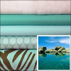 Lake Tahoe - available soon at Marmalade Fabrics.