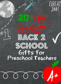 Back to school gifts for preschool teachers. Inexpensive ideas to show your child's teacher that you care! #toddlers