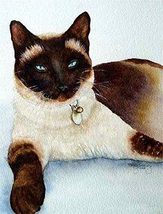 Patsy Seeley.    Watercolor