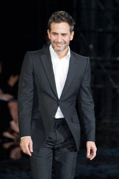 Marc Jacobs at Louis Vuitton Spring-Summer 2014 Fashion Show #PFW #RTW #SS14 #LouisVuitton #LV #LVMH via elle.com
