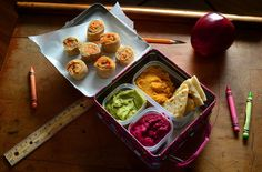 Looking to liven up your kid's school lunch? Try these hummus recipes