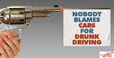 if guns could talk...