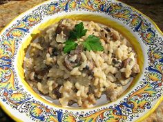 Christina's Cucina: Italian Sausage and Mushroom Risotto