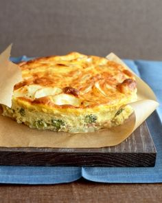 Ham-and-Potato Bake: This dish is basically a crustless quiche.