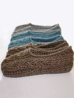 Cottage Slippers-4.99 E pattern central