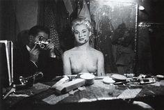 Horvat-1956-Paris-Self-portrait