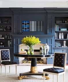 Wishing your bookshelves looked a little more...polished? These seven, by interior designers across the country, provide the perfect inspiration.