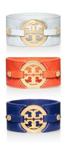 logo cuffs #toryburch