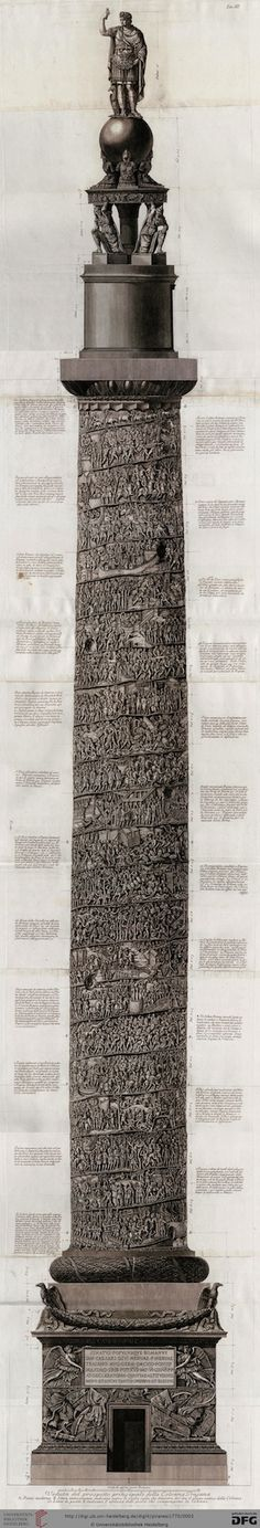 Trajan's Column by Giovanni Battista Piranesi.