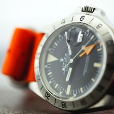 Rolex Explorer II early stage