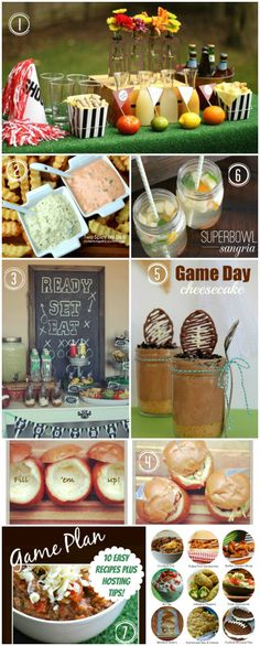 """The Big Game - Big Blog Round Up"" love the chocolate footballs!!!"